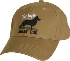 Coyote Brown Sheep Dog Adjustable Cap Baseball Hat - $10.99