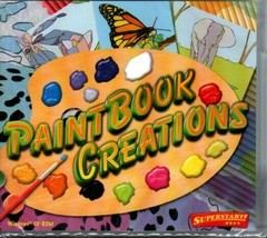 PaintBook Creations (All Ages) (PC-CD, 2008) for Windows - NEW in Jewel ... - $4.98