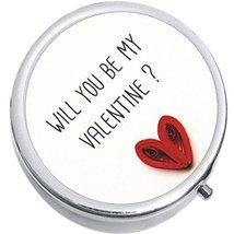 Valentine Medicine Vitamin Compact Pill Box - $9.78