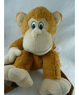 """Monkey Plush Backpack Brown for child 18"""" Mint with tags - $11.87"""