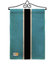 Botswana Burlap - Impressions Decorative Metal Wall Hanger Garden Flag S... - $33.97