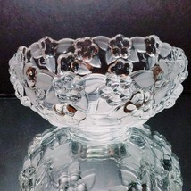 1 (One) MIKASA CARMEN Frosted Crystal Fruit, Dessert, or Berry Bowl - 5-... - $11.90