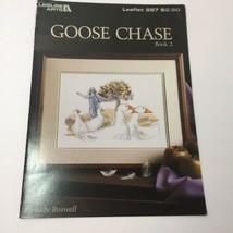 Goose Chase Bk 2 Cross Stitch Pattern Book Leisure Arts Judy Buswell - $9.74