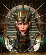 Female Pharaoh Vampire Demon Ruler Of Dark Entities Sex + Power Love Mon... - $149.50