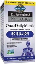 Probiotics for Men - Garden of Life Dr. Formulated Once Daily Men's Probiotics 5 - $40.58