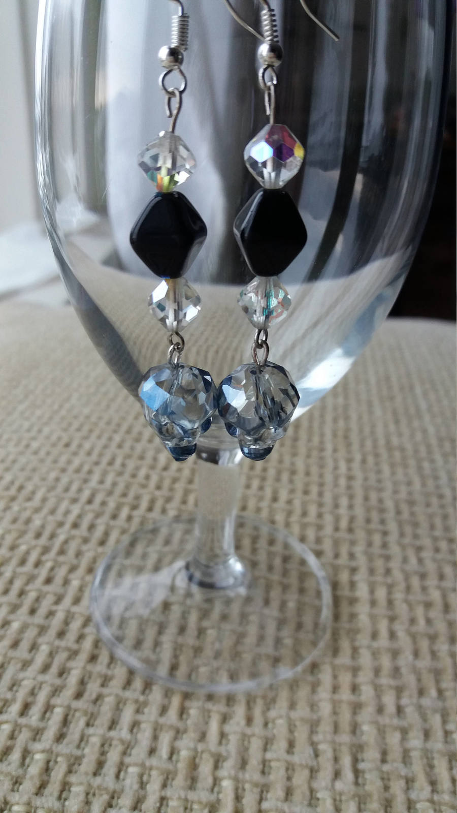 Swarovski crystal Skulls earrings Wedding jewelry Gift for her Crystal earrings  image 6