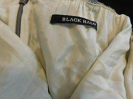 BLACK HALO SEQUIN HALTER DRESS SIZE 6 GUC image 7