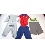 Guess Baby Carters Teddy Boom Coney Isle Baby Boys 3-6M Shirt Pants 5 Pi... - $14.84
