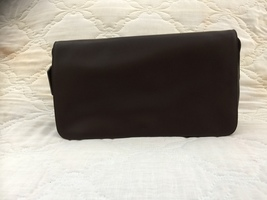 VINTAGE/COACH/ENVELOPE/SHOULDER BAG/DARK CHOCOLATE BROWN - $350.00
