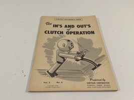 1948 Chrysler Corp Service Ref Book V2 No 4 In's and Out's of Clutch Operation - $17.99