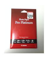 Canon PT-101 Platinum Series 4R 4 x 6 in Photo Paper Pro (20 Sheets), PT... - $16.99