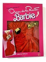 Vintage 1984 Mattel Barbie Oscar de la Renta Collector Series IV Designer Dress - $24.99