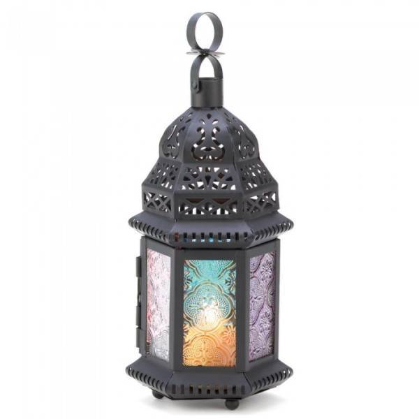 14119 SHIPS FREE Gallery of Light Magic Rainbow Candle Lantern image 2