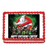 Ghostbusters edible party cake topper decoration frosting sheet image - $7.80