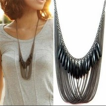 Fashion Long Necklaces & Pendants for Women Collier Femme 2019 Vintage B... - $9.42