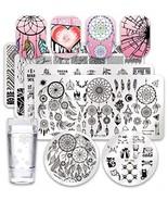 Born Pretty 6Pcs Nail Art Stamping Plates Set Valentine's Day Dream Datc... - $32.91