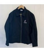 Wayne State College Warriors NCAA Champion Eco Fleece Black Sweatshirt L... - $39.57