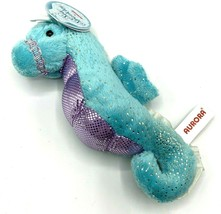 "Aurora 12"" Sea Sparkles Blue Star Seahorse Plush Stuffed Animal Sparkly ... - $8.56"