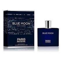 Perfume BLUE MOON POUR HOMME PARIS RIVIERA 100 ML. Aromatic long. - $34.87