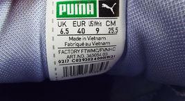 New PUMA RIHANNA Size 9 FENTY Purple Satin Bow Sneakers Shoes image 9