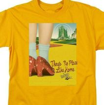 The Wizard of Oz t-shirt No place like home retro 30's gold graphic tee OZ111 image 3