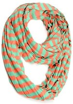 Stripe Cycle Chevron Infinity Zebra Scarf,nl-2002,10 Color Available (NL... - $12.23