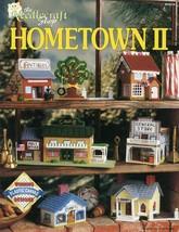 Hometown II Village Buildings Shops Plastic Canvas PATTERN/INSTRUCTIONS ... - $8.97