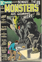 DC Special Comic Book #11, Beware the Monsters 1971 VERY FINE- - $29.91