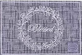 "Set of 2 Tapestry Placemats, 13"" x 19"", INSPIRATIONAL, BLESSED IN THE WR... - $11.87"