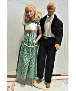 Barbie Dolls - Ken & Barbie (Black Tuxedo & formal dress) - $25.00