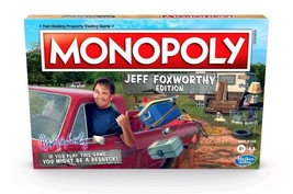 NEW SEALED Jeff Foxworthy Monopoly Board Game Walmart Exclusive  - $29.63