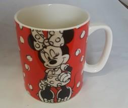 Disney Minnie Mouse Polka Dot Coffee Mug Polka Dots Are Always in Style ... - $14.80