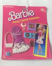 Barbie Party Trends Fashions No 715-6 Vintage 1989 On Card NRFP - $25.00