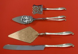 Wishing Star by Wallace Sterling Silver Dessert Serving Set 4pc Custom Made - $299.00