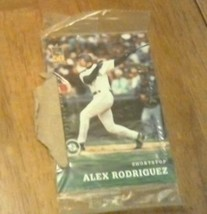 2001 Post Cereal Postopia Topps Baseball Card Seattle Mariners Alex Rodriguez - $7.43