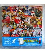 Springbok Peanuts Charlie Brown Snoopy 45th Anniversary 500 Pc PZL7000 S... - $56.00