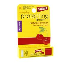 Carmex Everyday Protecting Lip Balm Stick SPF 15, Cherry 0.15 oz (4.25 g) - $2.99