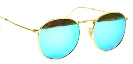 Ray Ban 3447 112/19 Classic John Lennon Gold Sunglasses 50mm New Genuine - $98.95