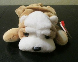 Ty Beanie Baby Wrinkles the Bulldog 5th Generation USED - $5.93