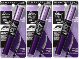Lot of 3: NEW Maybelline The Falsies Push Up Angel Mascara in 503 Browni... - $19.79
