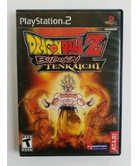 Dragon Ball Z Budokai Tenkaichi Playstation 2 PS2 Video Game Complete in... - $13.37