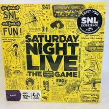 Saturday Night Live Board Game New Sealed 70s 80s 90s 2000s SNL 4 Player... - $14.36