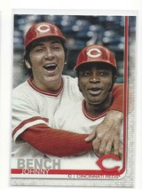 JOHNNY BENCH  REDS  2019 TOPPS #573 - PHOTO VARIATION SP!! - $10.99