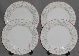 Set (4) Johnson Brothers SUMMER CHINTZ PATTERN Dinner Plates ENGLAND - $89.09