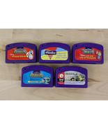 Lot of 5 Leap Pad Leapfrog Game Cartridges Shrek Monsters Reading Phonic... - $12.73