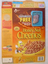 Cereal Box 2000 Honey Nut Cheerios DINOSAUR Chomping Magnet KRON 20 oz - $28.80