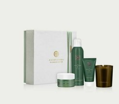 Rituals Ritual Of Jing 4 Piece Calming Bestsellers Gift Set Relax White ... - $34.19