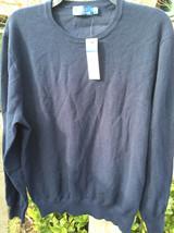 $199 Polo Ralph Lauren Men's Navy Crewneck Sweater Size: Large - $89.09