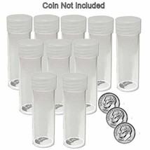 Round Dime Coin Tubes 18mm by BCW 10 pack - $6.99