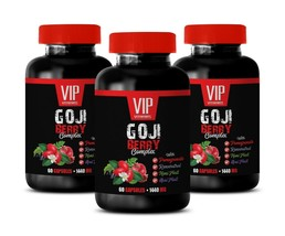 goji berry extract - Goji Berry Extract 1440mg - anti aging capsules 3 B... - $30.81